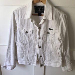Lucky Brand white corduroy jacket